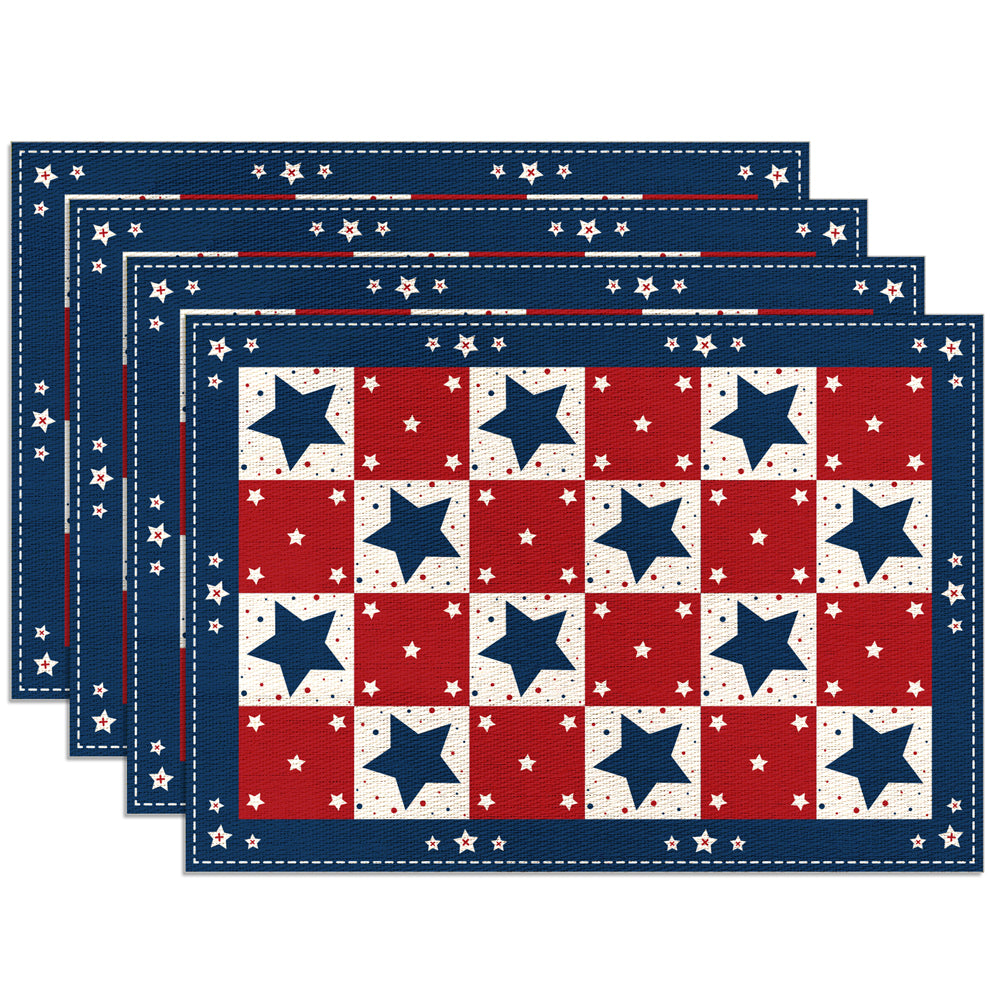 Set of 4 Indoor & Outdoor Placemats