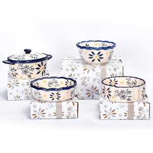 Set of 4 Mini Bakers with Gift Boxes
