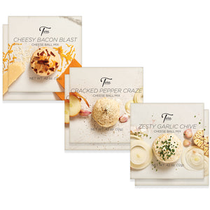 Set of 6 Savory Cheeseballs