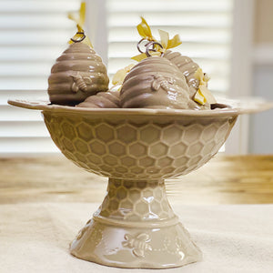 Bee-lieve Centertaining Pedestal with 6 Place Card Holders