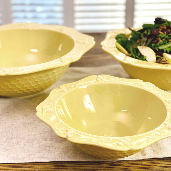 Bee-lieve Set of 3 Nested Bowls
