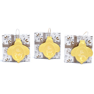Set of 3 Bee-lieve Trinket Trays with Gift Boxes