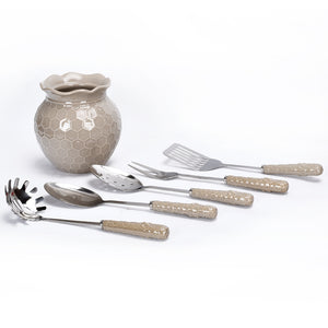 Bee-lieve Crock & Utensils