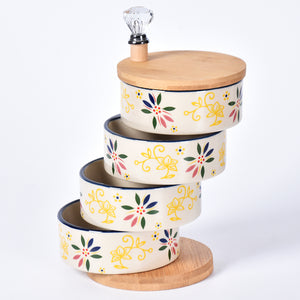 Tiered Salt & Spice Holder