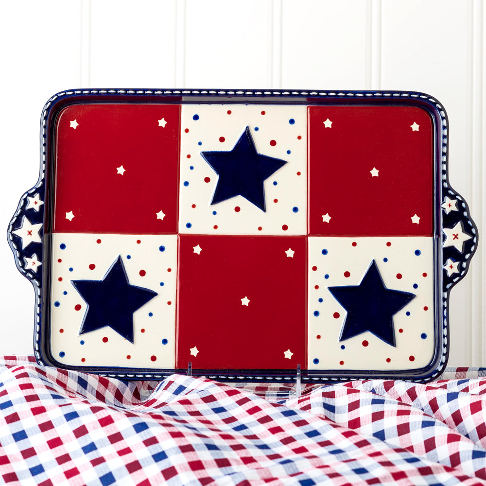 Tara's Must-Haves Star Stitched 13x9 Unlimit-lid®