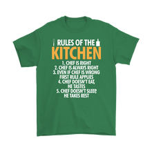 Load image into Gallery viewer, Rules of the Kitchen Gildan T-Shirts & Unisex Hoodie - Flafster Kitchen