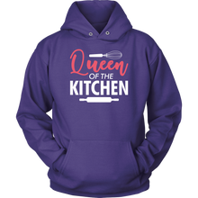 Load image into Gallery viewer, Queen of the Kitchen Women T-Shirt & Unisex Hoodie - Flafster Kitchen