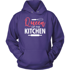 Queen of the Kitchen Women T-Shirt & Unisex Hoodie - Flafster Kitchen