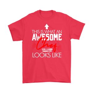 Awesome Chef  Gildan  T-Shirt & Unisex Hoodie - Flafster Kitchen