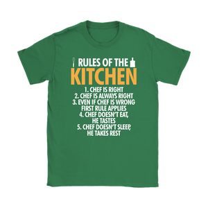 Rules of the Kitchen Gildan T-Shirts & Unisex Hoodie - Flafster Kitchen