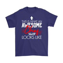 Load image into Gallery viewer, Awesome Chef Gildan T-Shirt & Unisex Hoodie - Flafster Kitchen