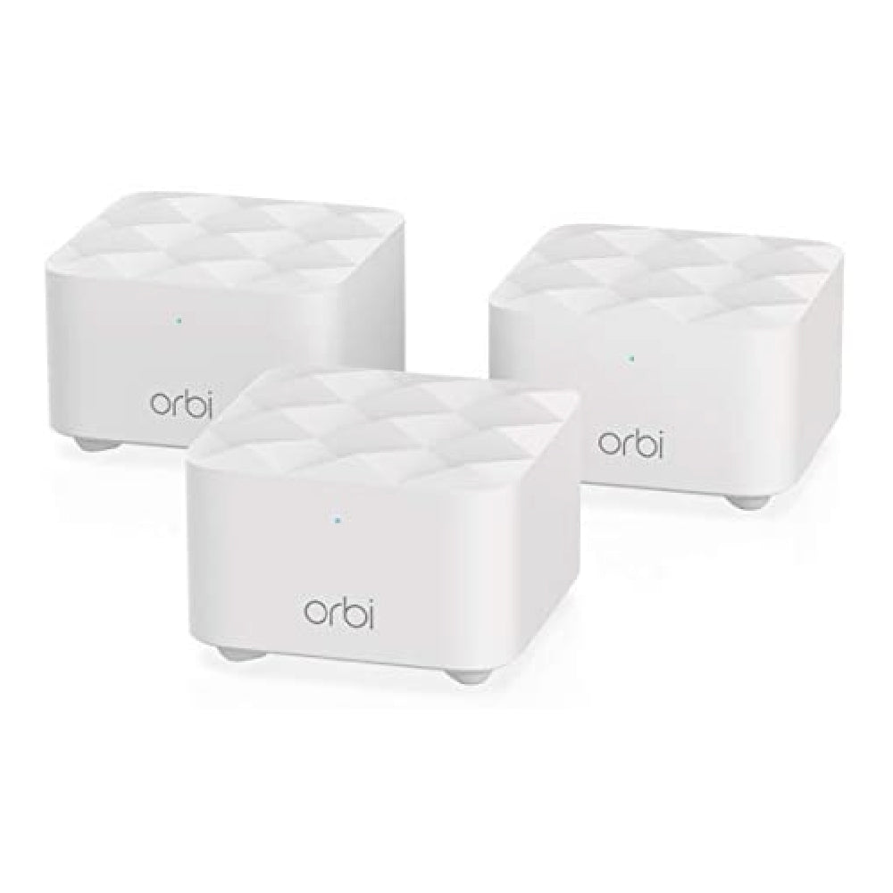 Orbi RBK13 Dual-Band Mesh WiFi System - AC1200 (1 Router + 2 Satellite)