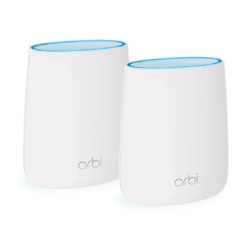 Orbi RBK20 Tri Band Mesh WiFi System - AC2200 (1 Router + 1 Satellite)