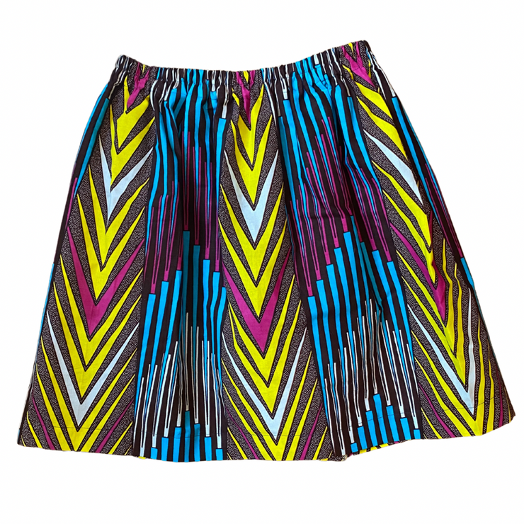 Girl's Skirt - Chevron Magic