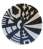 Rwandan Basket - Black and White Collection
