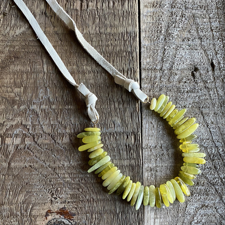 Necklace - Lime