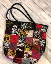 Load image into Gallery viewer, Patchwork Quilted Tote - Medium