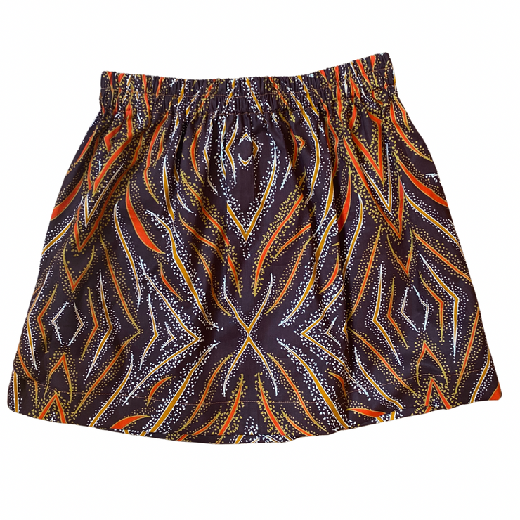 Girl's Skirt - Jungle Stripes