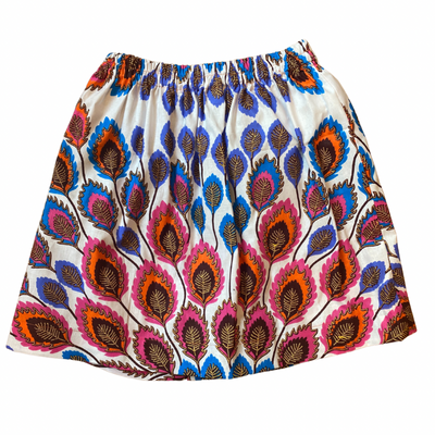 Girl's Skirt - Summer Feathers