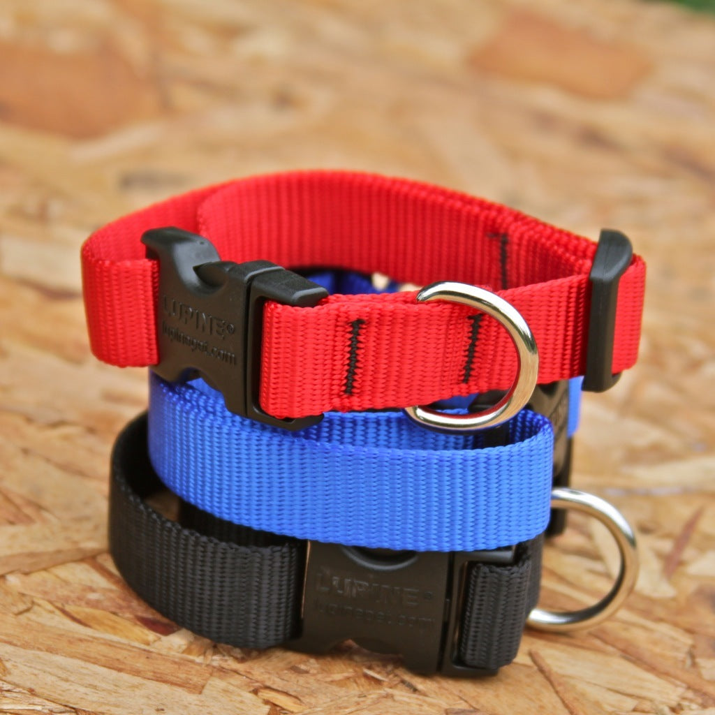 "Lupine 3/4"" Solid Collars"