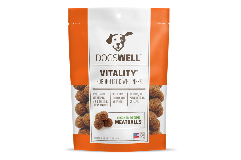 Vitality Chicken Recipe Meatballs Dog Treats