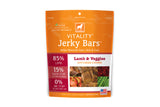 Vitality Jerky Bars Lamb & Veggies Dog Treats