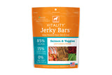 Vitality Jerky Bars Salmon & Veggies Dog Treats