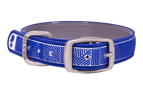 Atlantic Blue Chevron Collar