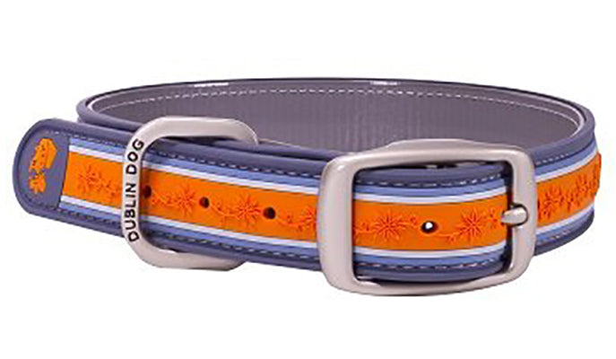 Tangerine Twist Wild Flower Collar