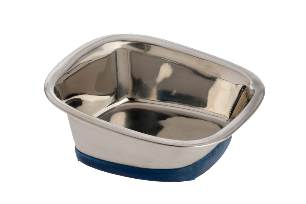 Premium Slanted Square Stainless Steel Bowl