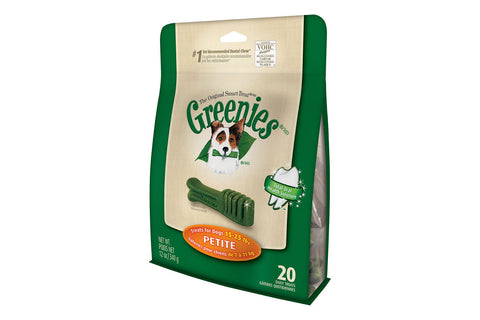 Greenies Dental Dog Treats - Petite