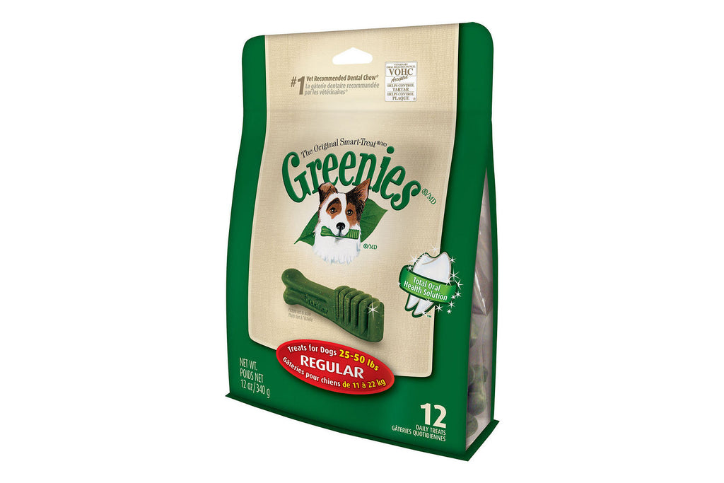 Greenies Dental Dog Treats - Regular