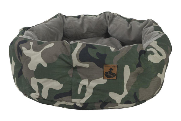 K9 Ballistics Tuff Round Bolstered Dog Bed