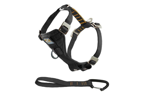 "Kurgo Tru-Fit Enhanced Strength Smart Dog Harness and 10"" lead"