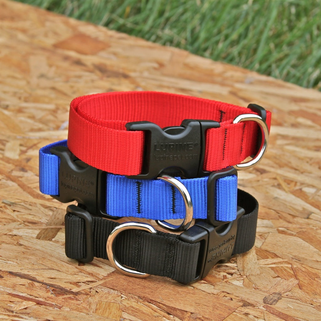 "Lupine 1"" Solid Collars"