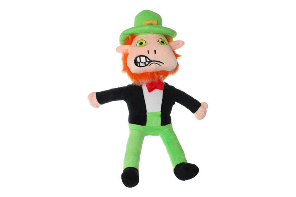 Mighty Leprechaun Tough Plush Dog Toy Indestructible Dog