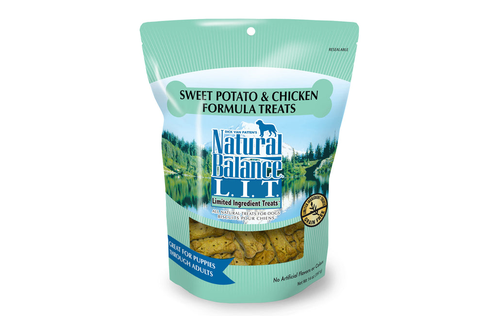 L.I.T. Sweet Potato & Chicken Dog Treats