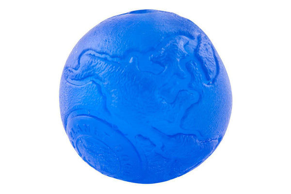 Orbee Ball Blue Indestructible Dog
