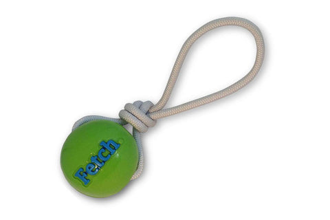 Orbee Tuff Fetch Dog Ball by Planet Dog in Green