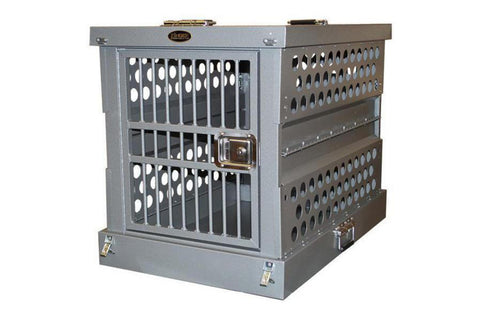 Zinger Aircraft-Grade Aluminum Collapsible / Folding Dog Crate