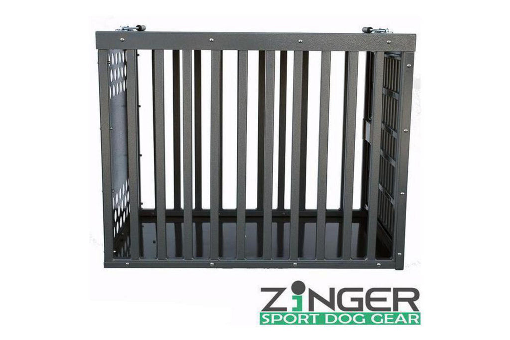 Zinger Heavy Duty Series Aluminum Dog Crate