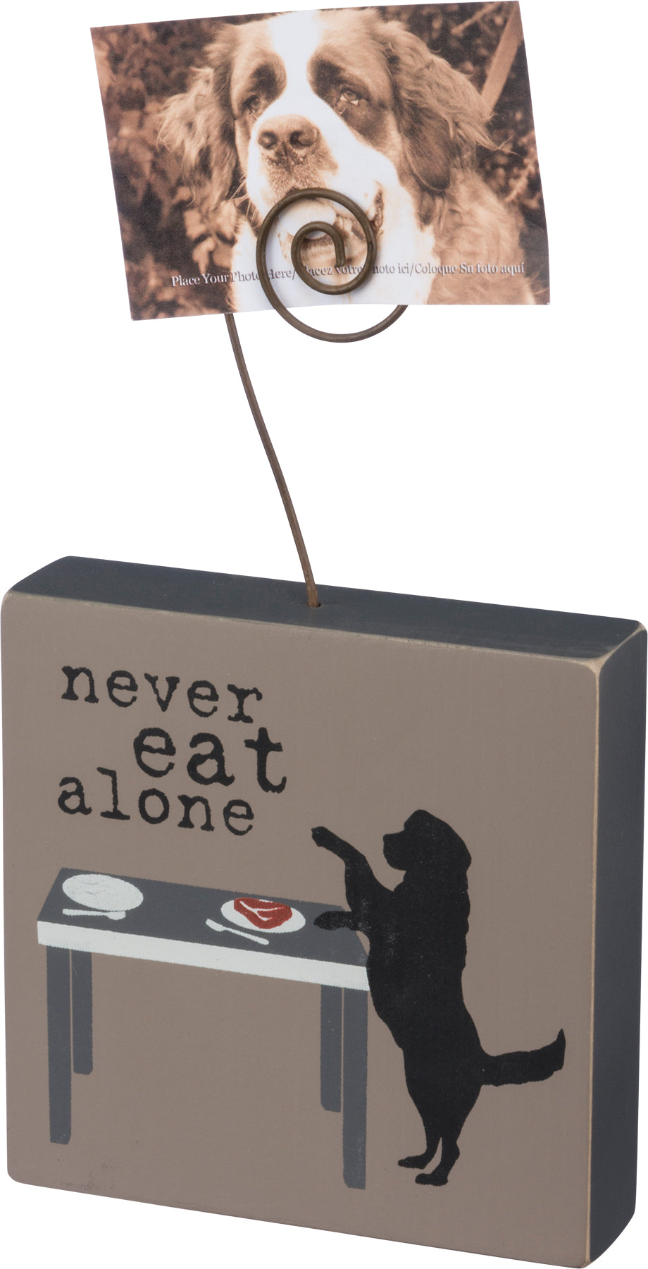 Box Frame - Never Eat Alone