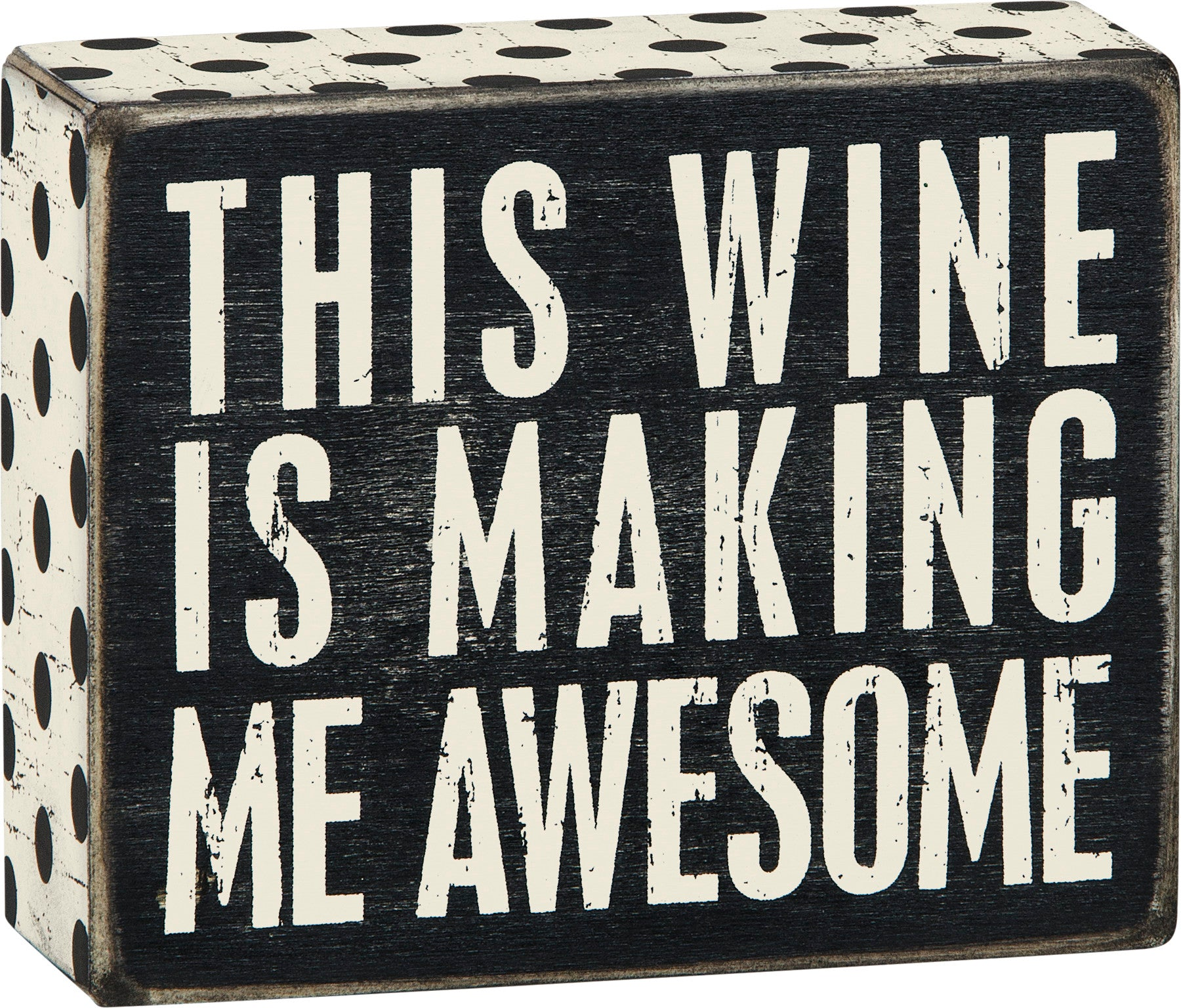 Box Sign - Wine Awesome