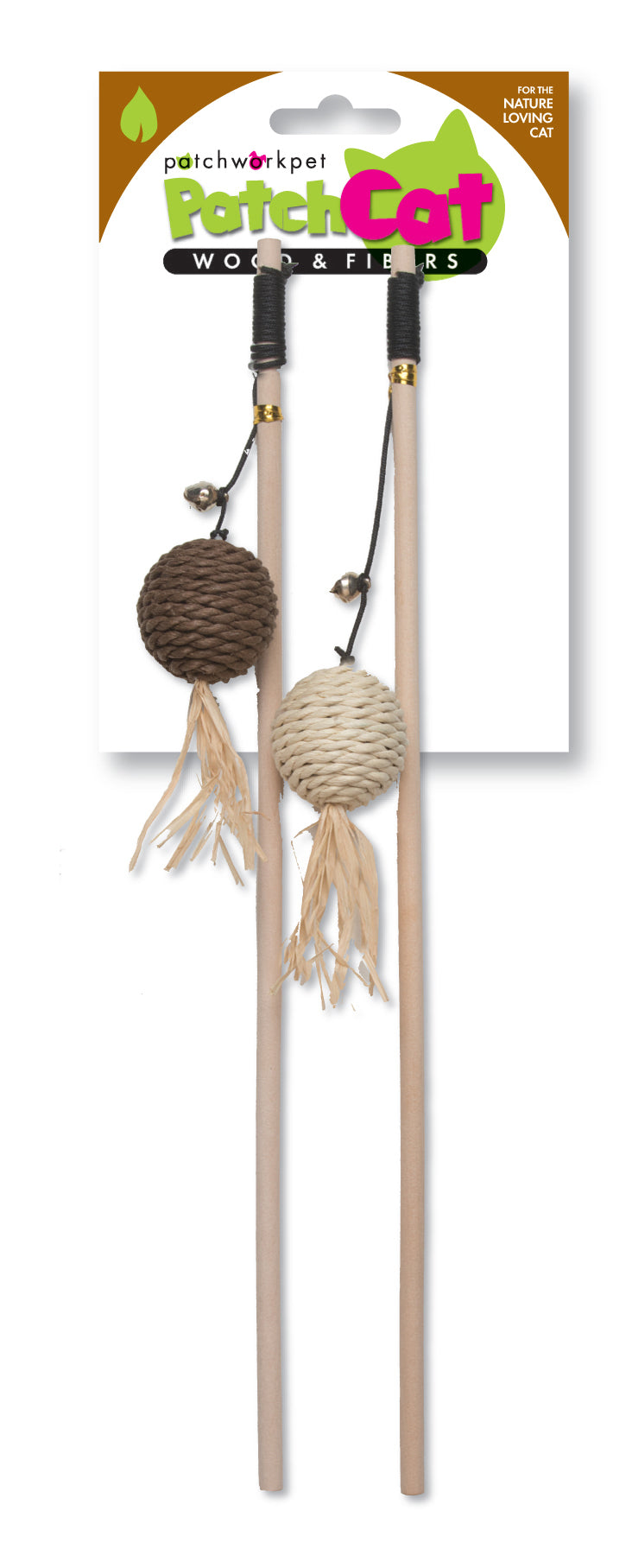 Cat Toy - Natural Wands 16""