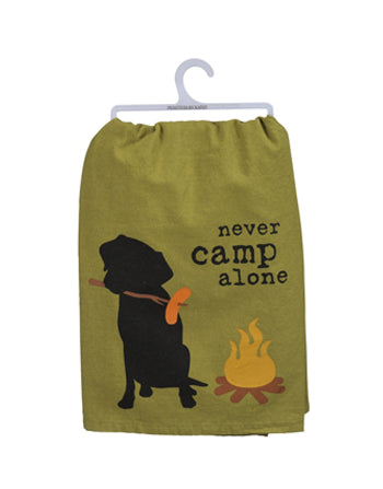 Dish Towel - Never Camp Alone