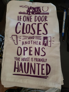 Dish Towel - Haunted