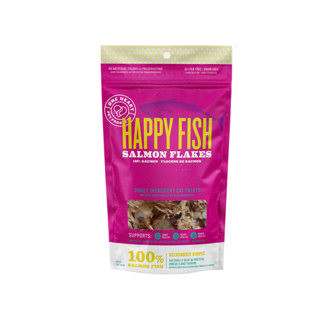 Happy Fish Flakes Cat Treat