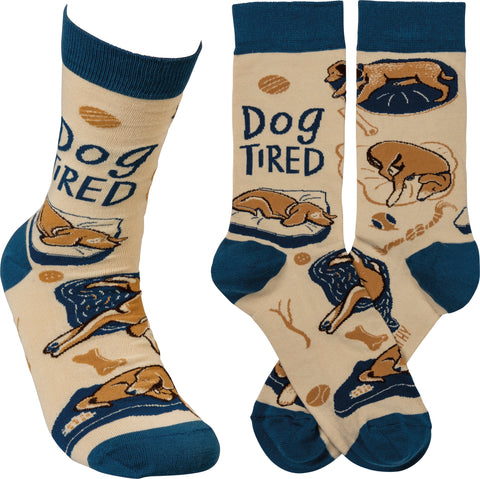 Unisex Socks - Dog Tired