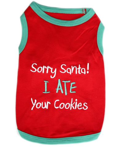 Pet Shirt - Sorry Santa!
