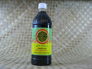 Aloha Soy Sauce - Lower Salt